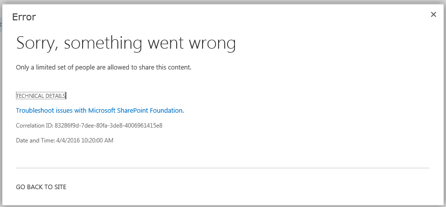 Premise Indicator Words: Document Sharing In SharePoint 2013
