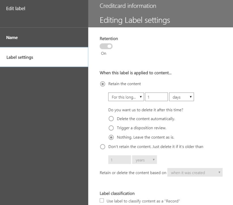 label-settings