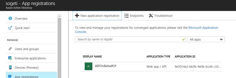 App-registration