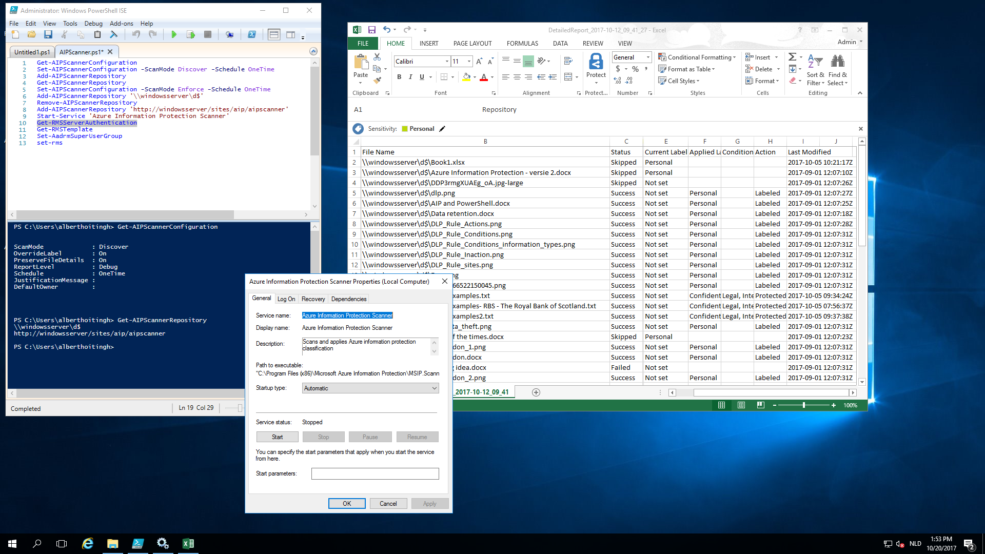 Azure Information Protection Scanner – AlbertHoitingh Com
