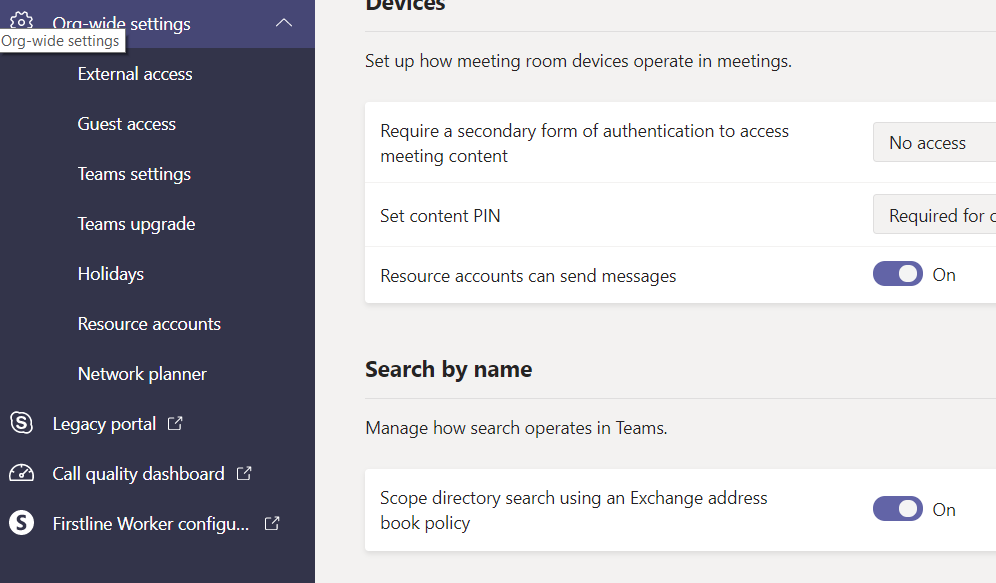 First look – information barriers in Microsoft Teams